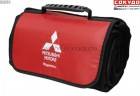 Сумка-плед Mitsubishi Plaid-Bag, Black-Red - Lancer96.ru