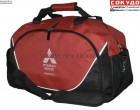 Спортивная сумка Mitsubishi Sports Bag, Black-Red - Lancer96.ru