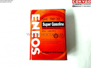 Eneos Super Gasoline SemiSynthetic 5W30 4L - Lancer96.ru